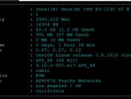 【快快网络】月末8折,美国VPS,1H1G,100M带宽,100G防御,16元/月